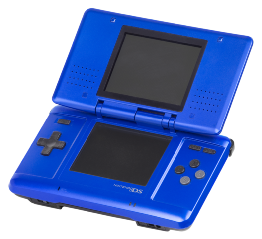 File:Nintendo DS (Electric blue).png