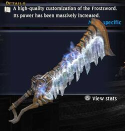 Frostsword Virtutis