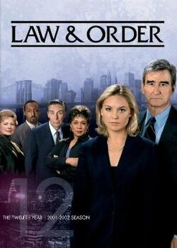 Law and Order S12 (DVD)