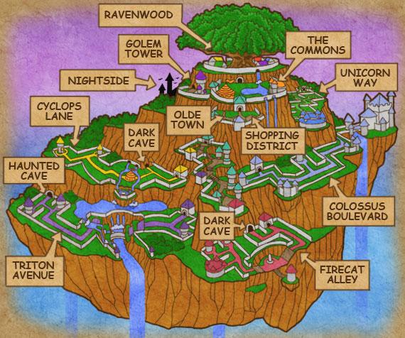 Wizard-City-World-Map