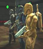 The mandalorian guild soldier's