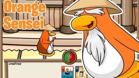 Club Penguin- Orange Sensei Glitch
