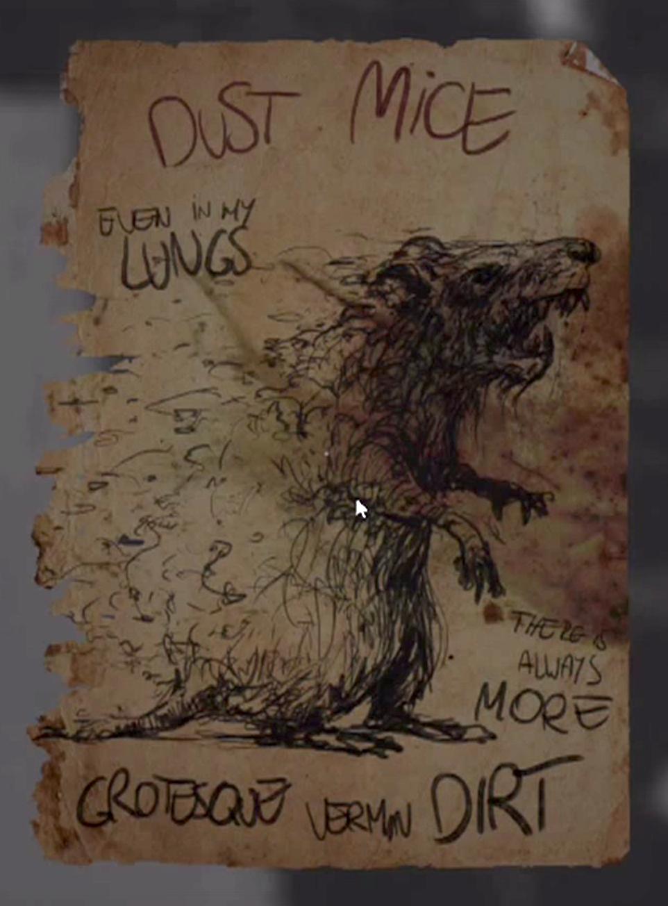 Rat scrawlings layersoffear wikia fandom powered by wikia rat dust mice biocorpaavc Image collections