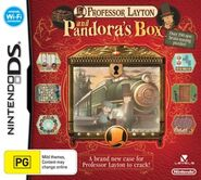 Professor Layton Pandora's Box Australian Boxart