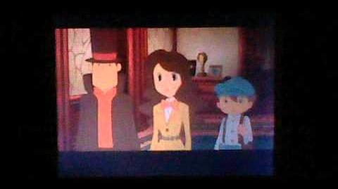 Professor Layton and the Spectre's Call the Last Specter - Cutscene 15 (UK Version)
