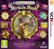 Miracle Mask European Boxart