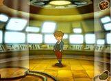 Clive in the main scene