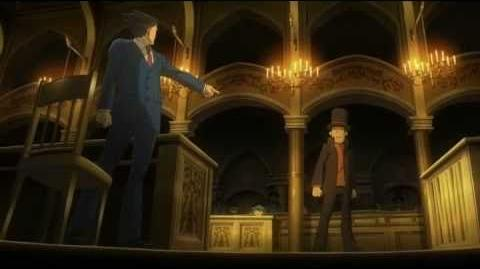 Professor Layton VS Phoenix Wright trailer with SUBS HQ