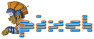Nick Jr. LazyTown Pixel Illustrated Logo