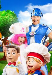 LazyTown - Breakfast at Stephanie's Promo Image