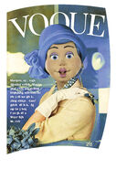 Nick Jr. LazyTown - Bessie Busybody Vogue Cover