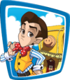 Nick Jr. LazyTown Navigation Stingy