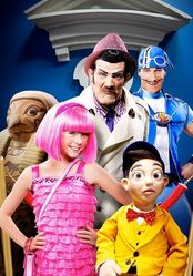 Nick Jr. LazyTown - Purple Panther Promo Image