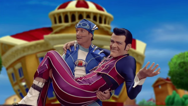 File:Nick Jr. LazyTown - Sportacus and Robbie Rotten in Anything Can Happen.png