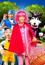Nick Jr. LazyTown - Little Pink Riding Hood Promo Image