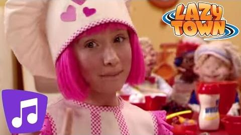 LazyTown Cooking By The Book Music Video