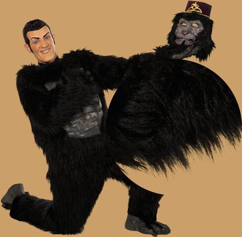 File:Nick Jr. LazyTown - Robbie Rotten Gorilla Suit Harambe.jpg
