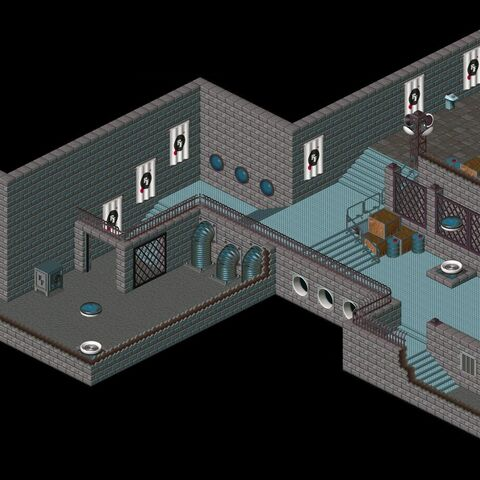 The headquarter's interior
