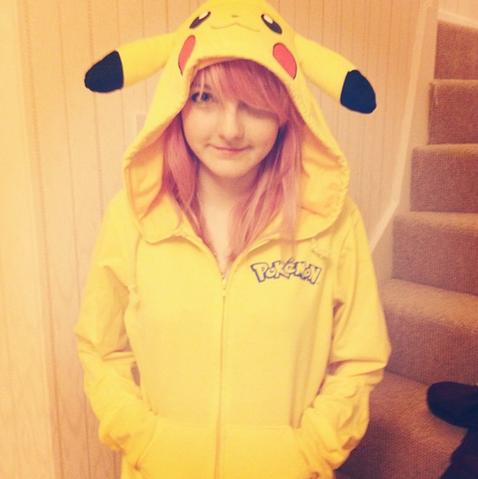 File:Lizzie in a pikachu onesie.PNG