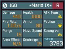 Marid IX R Lv1 Back