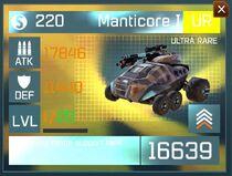 Manticore I1