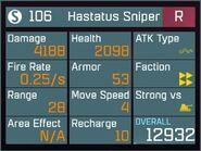 Hastatus Sniper R Lv50 Back