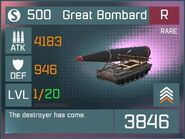 Great Bombard R Lv1 Front