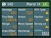 Marid IX UC Lv1 Back