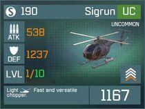 Sigrun UC Lv1 Front
