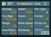 Proletarian Tank C Lv1 Back