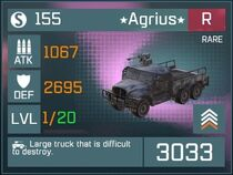 Agrius R Lv1 Front