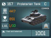 Proletarian Tank C Lv1 Front