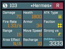 Hermes R Lv1 Back