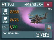 Marid IX R Lv1 Front