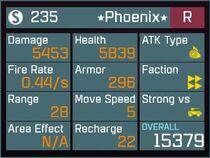 Phoenix R Lv50 Back