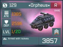 Orpheus R Lv1 Front