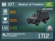 Beacon of Freedom UC Lv1 Front