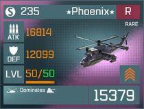 Phoenix R Lv50 Front