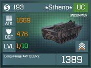 Stheno UC Lv1 Front