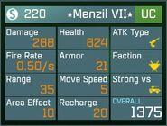 Menzil VII UC Lvl1 Back