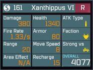 Xanthippus VI R Lv1 Back