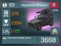 Righteous Whisper R Lv1 Front