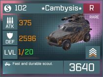Cambysis R Lv1 Front