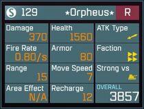 Orpheus R Lv1 Back