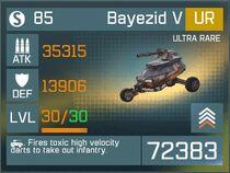 Bayezid V UR Lv30 Front