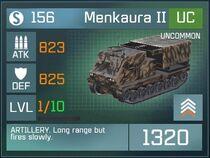 Menkaura II UC Lv1 Front