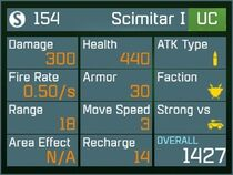 Scimitar I UC Lv1 Back