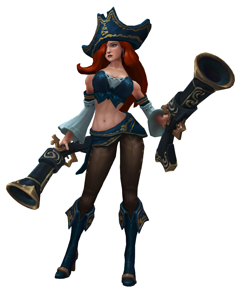 Miss Fortune Render
