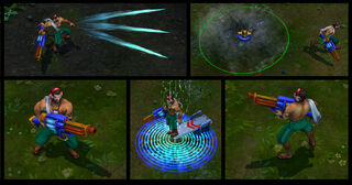 Graves PoolParty Screenshots