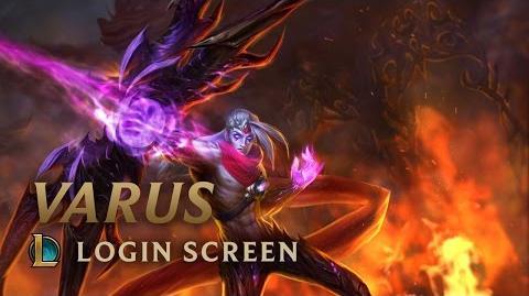 Varus, the Arrow of Retribution - Login Screen